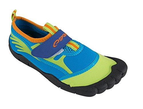 Spokey Jungen Wasserschuhe Aquaschuhe Seafoot, blau/grün, 34