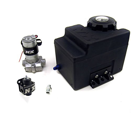 Nitrous Express 15003 Stand Alone Fuel Enrichment System Gas Internal Pump 5-12 psi. Adjustable Regulator Stand Alone Fuel Enrichment System ()