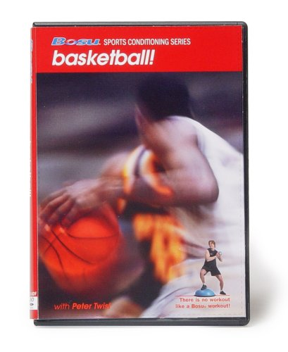 Bosu Sports Conditioning Series Basketball DVD with Peter Twist