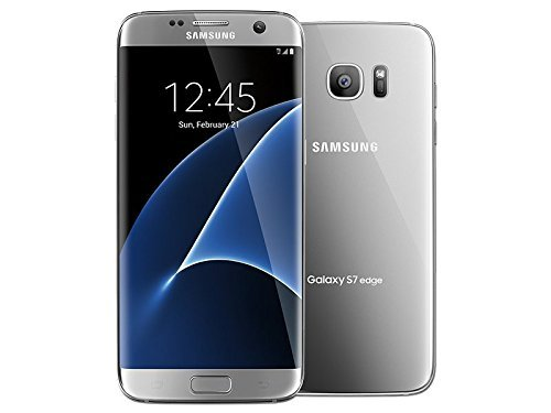 Samsung Galaxy S7 Edge 32GB G935T for T-Mobile - Silver Titanium (Certified Refurbished) by Samsung (Image #1)