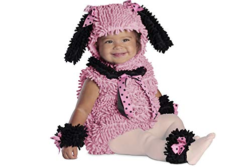 Toddler Poodle Costume (Princess Paradise Baby Girls' Pinkie Poodle Deluxe Costume, Pink, 6 to 12)