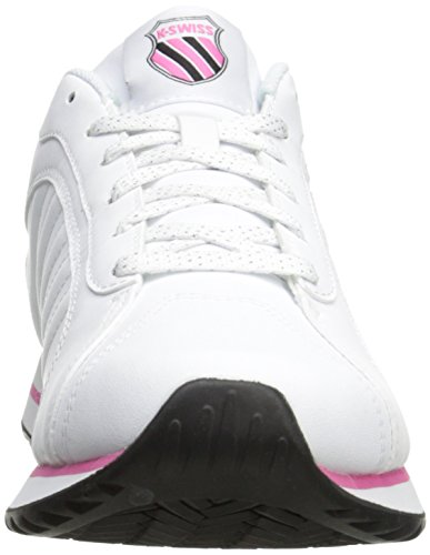 K-Swiss Womens Verstad III S White/Shocking Pink