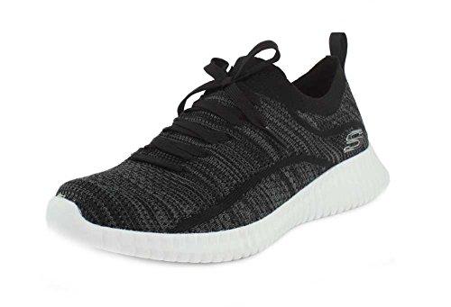Skechers Mens Elite Flex - Sneaker Ibache Noir