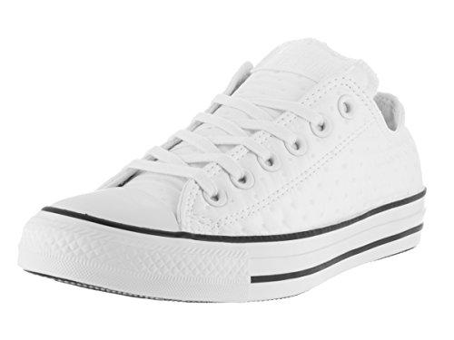 Converse Women's Chuck Taylor All Star Neoprene Ox White/Black/White Casual Shoe 9 Women US