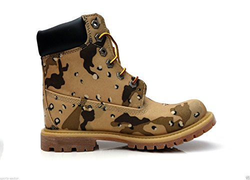Timberland 6 inch Wedge Camo Brown mujer Botas