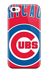 New Style Tpu 4/4s Protective Case Cover/ Iphone Case - Chicago Cubs