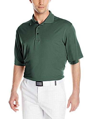 Antigua Men's Pique Xtra-Lite Desert Dry Polo Shirt, Dark Pine, XX-Large ()