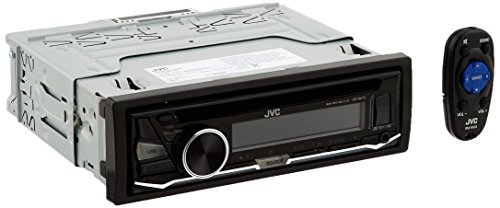 JVC KD-R470 Single DIN In-Dash CD/AM/FM/ Receiver w/ Detachable Faceplate, Front USB and 3.5mm Auxiliary Input
