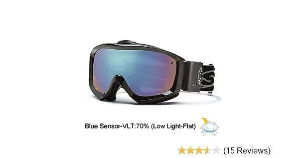 de7f4e3161 Amazon.com   Smith Optics Prophecy Turbo Fan Goggle (Black Frame ...