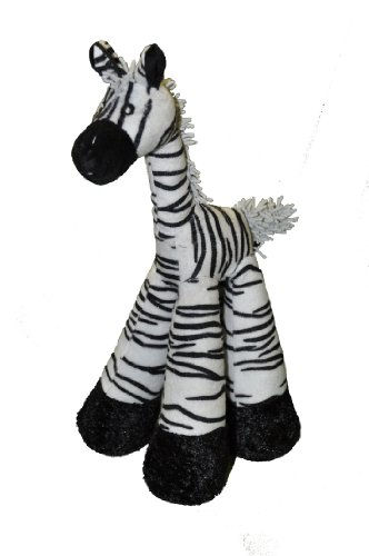 Patchwork Pet Long Legs Zebra 12-Inch Squeak Toy for Dogs Review