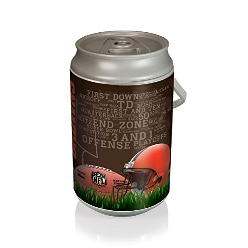 NFL Cleveland Browns Insulated Mega Can  - Cleveland Browns Bucket Shopping Results