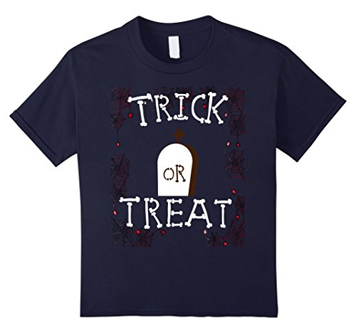 Best Friend Halloween Costumes Ideas For Girls (Kids Funny Trick or Treat T-shirt Best Halloween Costume Gift Tee 12 Navy)