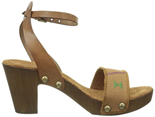 Bunker Dan Cu3, Women's Sandals Marron (Tan)