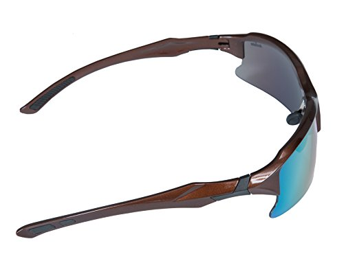 Frame Sports Cricket pl Acclaim Sunglasses Bronze Lentes Titan Negro Sun de wvtqqxYA5