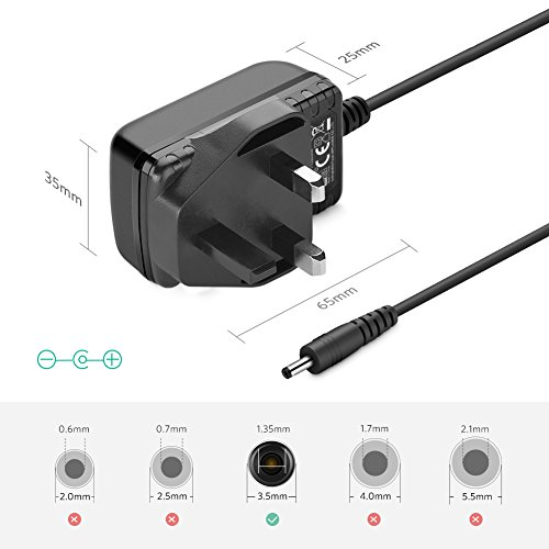 5M DC Power Adapter Extension Cable Cord For Foscam IP Security Camera FI9831W