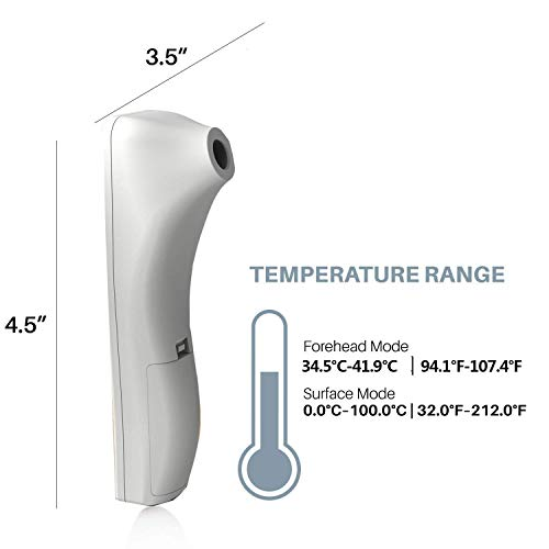 Infrared Thermometer,Baby Thermometer, LCD Display Infrared Thermometer