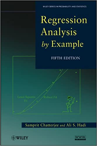 Regression Analysis by Example (Wiley Series in Probability