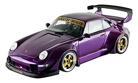Gt Spirit gt727 - Porsche 993 RWB - Escala 1/18 - Morado: Amazon.es: Juguetes y juegos