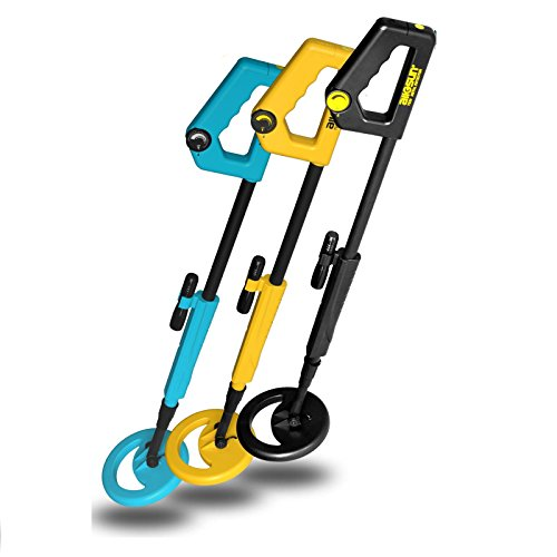 ALLOSUN Junior Metal Detector Beach Yard Junior Ground Metal Detector High Sensitive Treasure Hunter Gold Digger Color Random