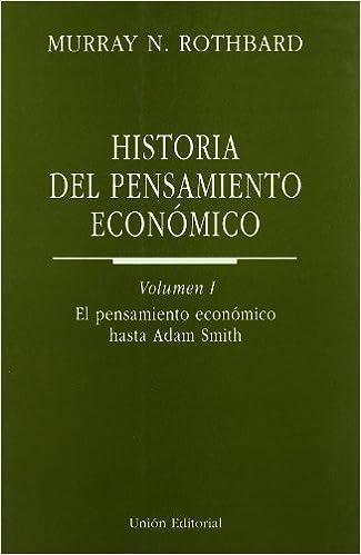 Descargar libros en pdf Historia del pensamiento económico: 1. El pensamiento económico hasta Adam Smith (Clásicos de la Libertad) in Spanish PDF ePub MOBI
