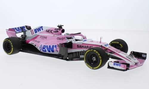 (Force India Mercedes VJM11, No.11, Sahara F1 Team, BWT, Formula 1, 2018, Model Car,, Minichamps)
