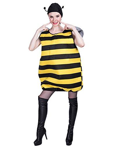 [EraSpooky Unisex Halloween Bee Costume(As Picture, OneSize)] (Male Bee Costume)