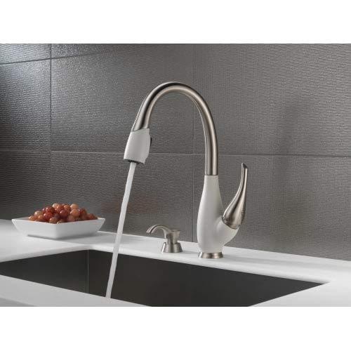 Delta Faucet RP50781SP Gala, Soap/Lotion Dispenser Spot Shield, Stainless by DELTA FAUCET (Image #2)