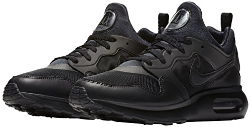 NIKE Men's Air Max Prime Running Shoe Athletic and Casual Sneaker (9 D(M) US, Black/Black/Dark Grey)