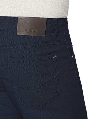 Cadiz Two Azul Hombre Pocket Five Tone Pantalones Struktur Baumwolle Brax ocean Para C ZTEqnw