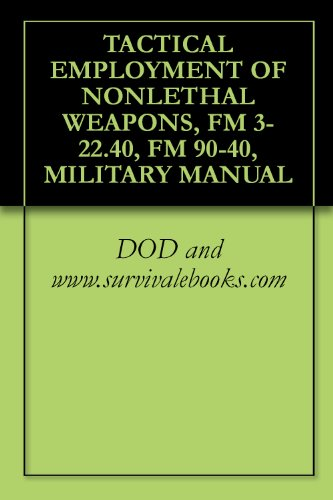 MULTISERVICE PROCEDURES FOR THE TACTICAL EMPLOYMENT OF NONLETHAL WEAPONS, MILITARY MANUALS