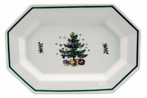 Nikko Christmastime Oval Platter, 13-Inch