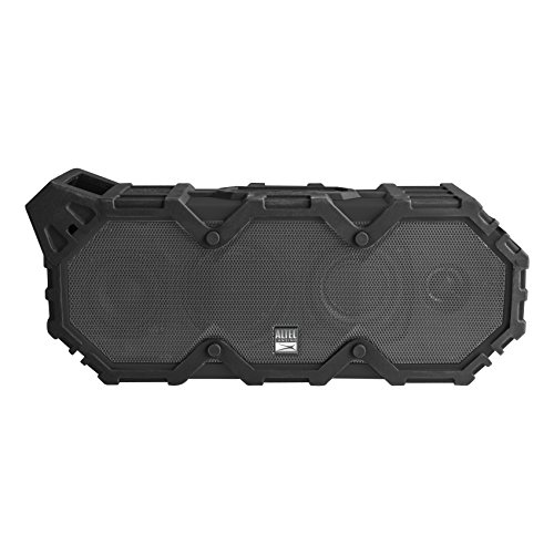 Altec Lansing IMW789-BLG LifeJacket XL Wireless Waterproof Floatable Bluetooth Speaker with 100 ft Wireless range, 40 Hours of Battery Life, and Stereo Pairing, Black/Grey by Altec Lansing (Image #7)