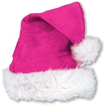 554b24eea068b Amazon.com  Fun Express Assorted Color Santa Hats (1 Dozen) - Bulk ...