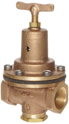Kingston 159A Series Brass Air Pressure Regulator Valve, 3/4'' NPT Female by Kingston Valves (Image #1)