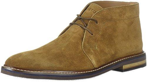 Bostonian Men's Dezmin Mid Chukka Boot, Cola Waterproof Suede, 12 Medium - Fashion 9.99