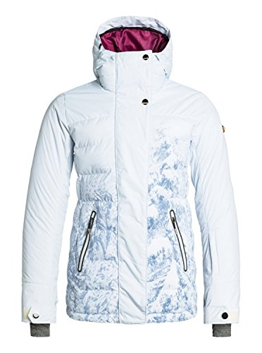 Roxy SNOW Junior's Torah Bright Crystalized Snow Jacket, Winter Forest, Large
