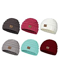 American Trends Baby Boys Girls Lovely Knitted Cap Winter Warm Beanie Hats Unisex