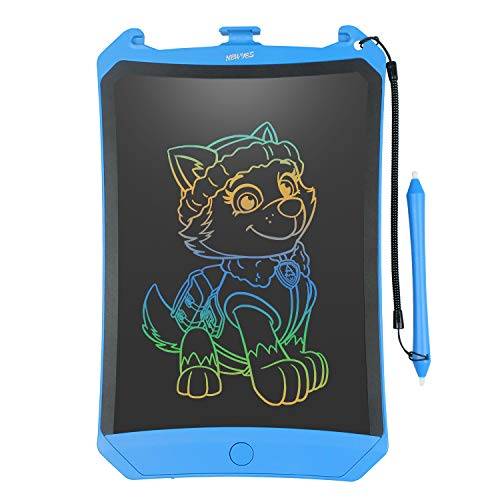 LCD Writing Tablet, 2019 Upgraded Colorful Screen 8.5 Inch Electronic Writing Board Doodle and Scribble Board Magnetic Memo Notes Comes with 1 Lanyard for Kid & Adults