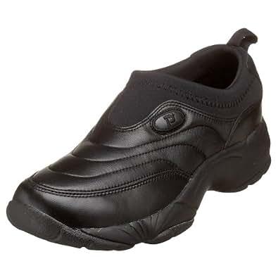 Propet Men's M3851 Wash & Wear Slip-on,Black,7.5 M (US Men's 7.5 D)