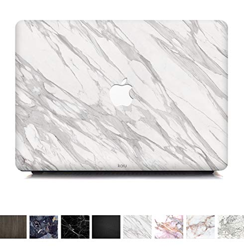 - Koru Premium Minimalist White Marble Vinyl Decal Skin Sticker Case Cover for MacBook Pro 15 inch Retina Without CD Drive (Model A1398)