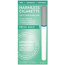 Natural Quit Smoking Remedy/Stop Smoking Aid To Help Quit Smoking/Therapeutic Quit Smoking Product/Best Stop Smoking Product/Easy Way To Quit/Harmless Cigarette (Fresh Mint)
