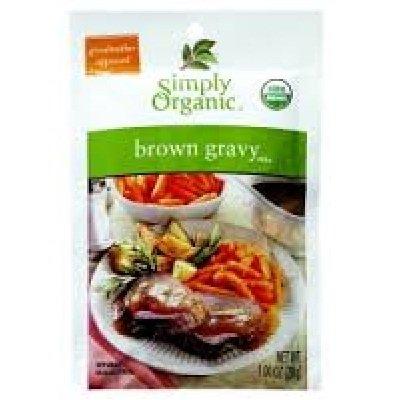 Simply Organic Brown Gravy 48x 1OZ