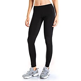 Yogipace Petite/Regular/Tall,25″/28″/31″,Women's Water Resistant Fleece Lined Thermal Tights Winter Running Cycling Skiing Leggings with Zippered Pocket 41GTXDDnG6L
