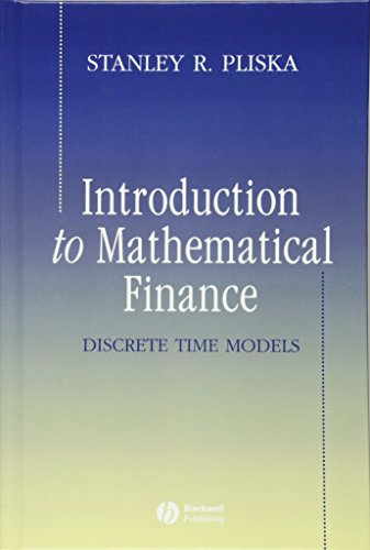 Introduction to Mathematical Finance: Discrete Time Models by Wiley