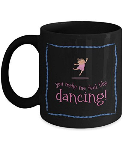 [Dancing Coffee Mug for Her, Anniversary Gifts for Boyfriend Girlfriend His & Hers, Valentines Gifts for Couples Wedding Anniversary, Gift Coffee Mugs Tea Cups] (Who Designs Dancing With Stars Costumes)