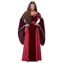 Smiffy's Women's Medieval Queen Deluxe Costume