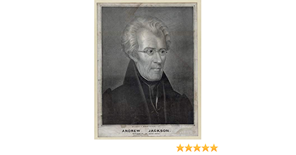 Andrew Jackson Print - Matte M100052 Vintage Historical 1815 Artwork 11 x 14