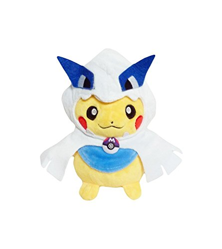 Costume Wearing Pikachu (Pokemon: 7-inch Mascot Pikachu Plush Doll -)