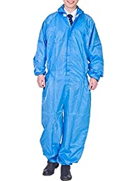XinAndy Unisex Anti-Static Dust-Proof Overall Blue