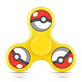 Pokemon Logo Cool Fidget Hand Spinner Toy Relieve Stress And Anxiety